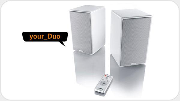 Canton your Duo wireless Paar *schwarz* Your World