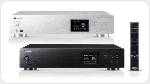 Pioneer N 30 Netzwerk-Audio-Player mit Front-USB *silber*