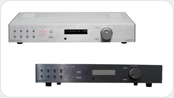 Audiolab 8200 AP 7.1 AV Vorverstärker *schwarz*