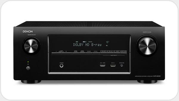 Denon AVR X2000 *schwarz* 7.1 HD Netzwerk AV-Receiver