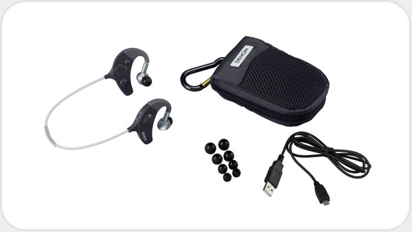 Denon AH-W 150 Wireless In Ear-Sportkopfhörer *gelb*