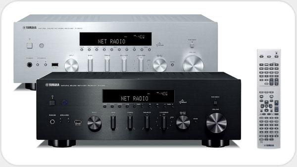 Yamaha R-N 500 Netzwerk-HiFi-Receiver *silber*
