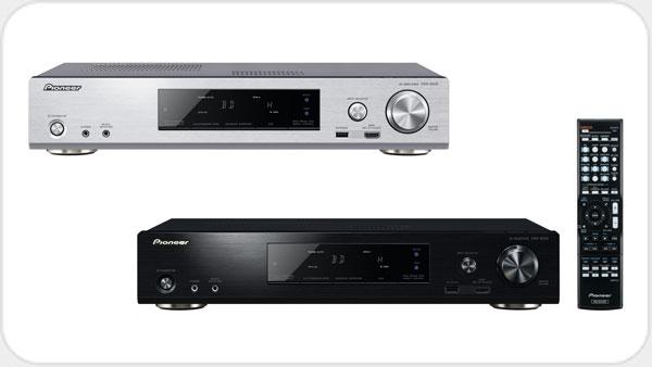 Pioneer VSX-S510 Netzwerk Slim AV Receiver *silber*