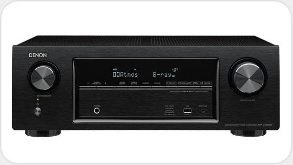 Denon AVR X1300W *schwarz* A/V-Receiver mit WLAN und Bluetooth