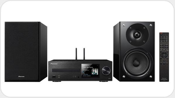 Pioneer X-HM86D Netzwerk-MicroSystem mit Streaming *schwarz*