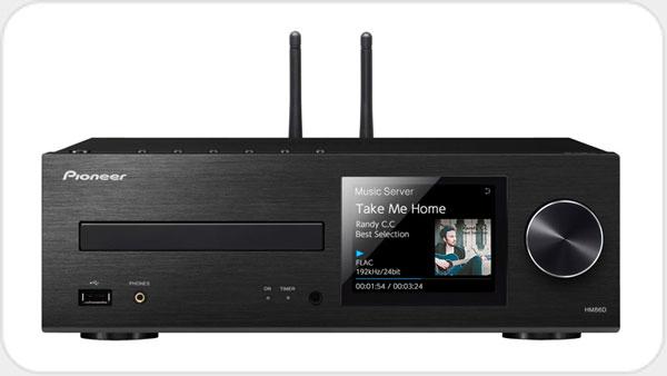 Pioneer XC-HM86D Netzwerk-MicroReceiver mit Streaming *schwarz*
