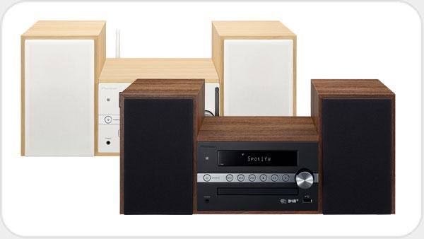 Pioneer X-CM66D HiFi-Microsystem DAB+ und WiFi *schwarz*