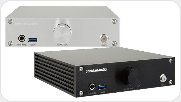 Cocktail Audio N 15D Netzwerkplayer USB DAC 1x1TB 2.5 SSD *silber*