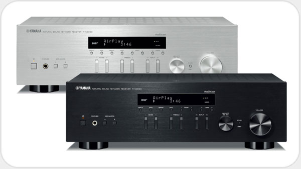 Yamaha R-N 303 D Netzwerk-HiFi-Receiver *silber*