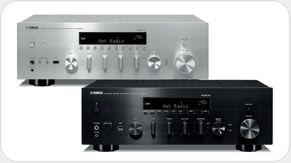 Yamaha R-N 803 D Netzwerk-HiFi-Receiver *silber*