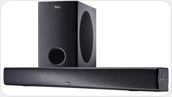 Magnat CSB 1000 Soundbar mit Wireless Subwoofer *schwarz*