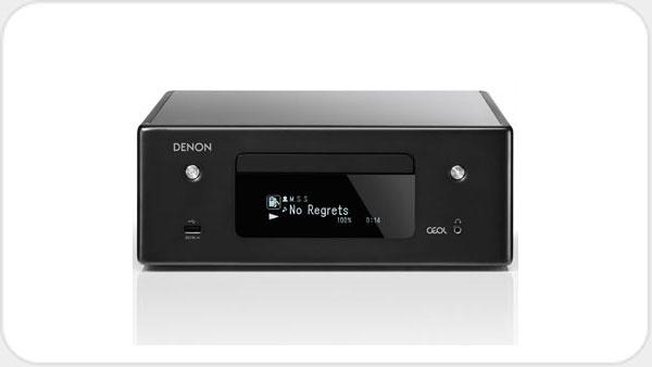 Denon RCD N10 Netzwerk-Hifi-System mit Alexa und HEOS *grau*
