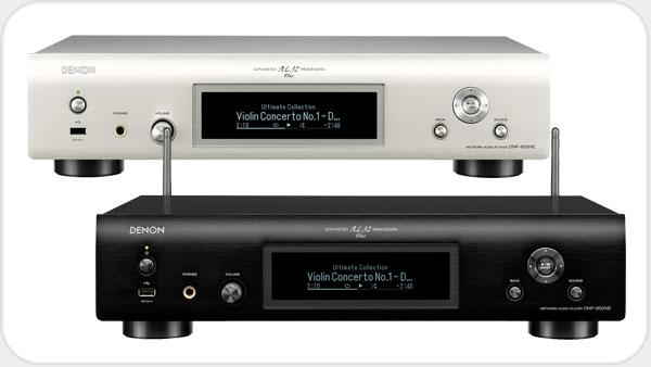 Denon DNP 800NE Netzwerk Audio-Player *silber*