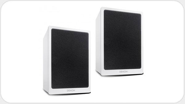 Denon SC-N10 2-Wege Lautsprecher Paar *grau*