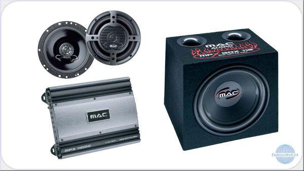 mac audio mac xtreme 4000 komplettpaket. Black Bedroom Furniture Sets. Home Design Ideas
