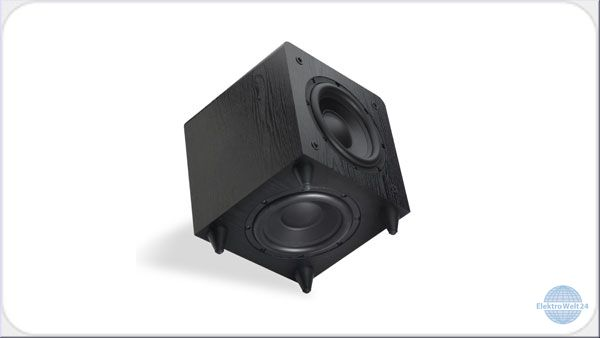 sunfire sds 8 aktiv subwoofer schwarz. Black Bedroom Furniture Sets. Home Design Ideas