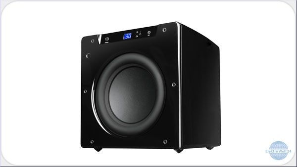 velodyne spl 1000 ultra aktiv subwoofer weiss oder schwarz. Black Bedroom Furniture Sets. Home Design Ideas