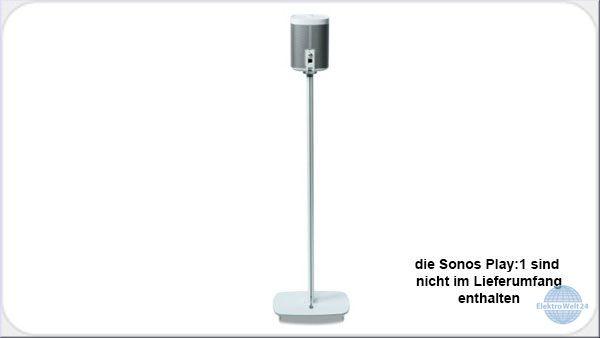 flexson flxp1fs st nder f r sonos play 1 weiss oder. Black Bedroom Furniture Sets. Home Design Ideas
