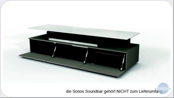 Spectral Just Racks Jrm 1650 Pe Tv Mobel Fur Soundbars Pebble Elektrowelt24 De