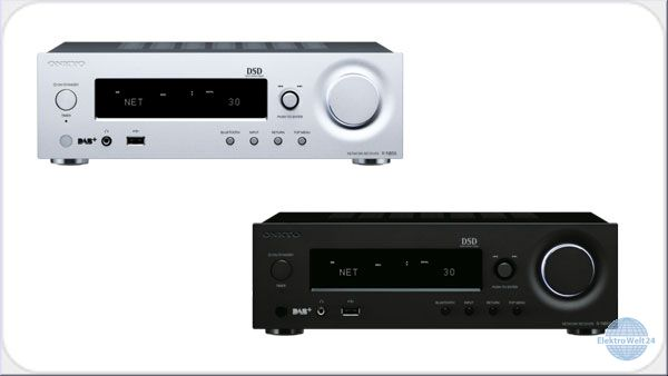 onkyo r n855 netzwerk stereo receiver weiss oder schwarz. Black Bedroom Furniture Sets. Home Design Ideas